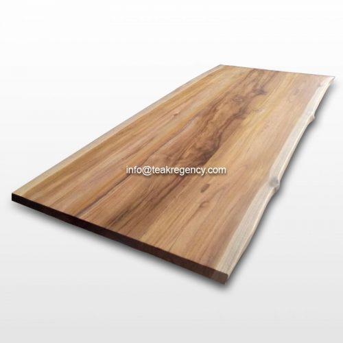 Driftwood Teak Table: Live Edge Table Top Teak Wood Slab · Reclaimed Teak Root
