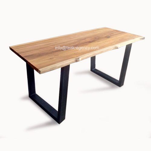 Coffee Table Teak Live Edge: Live Edge Table Top Teak Wood Slab · Reclaimed Teak Root