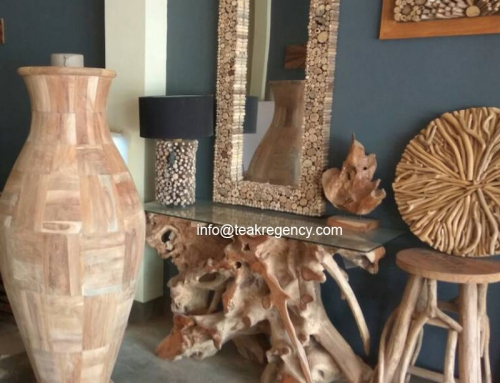 Reclaimed Teak Root Furniture as New Home Decor Trend